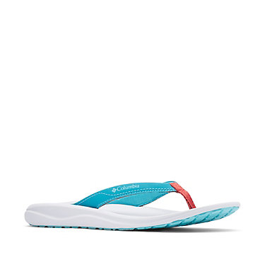 Women's Columbia™ Flip Flop COLUMBIA™ FLIP | 010 | 11, Clear Blue, Beta, 3/4 front