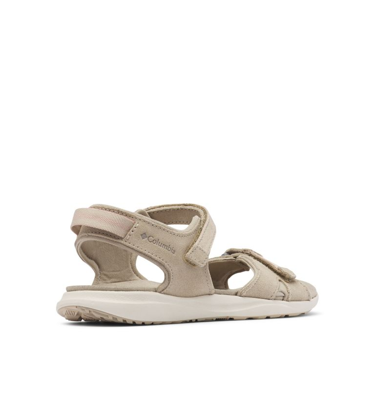 Women's Columbia™ Leather Ankle Strap Sandal Women's Columbia™ Leather Ankle Strap Sandal, 3/4 back