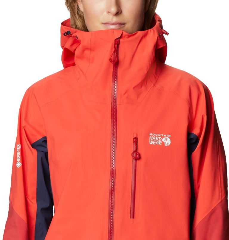 Gore-Tex Pro W Jkt | 636 | L Women's Exposure/2™ Gore-Tex Pro Light Jacket, Fiery Red, a2