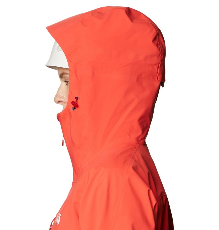 Gore-Tex Pro W Jkt | 636 | L Women's Exposure/2™ Gore-Tex Pro Light Jacket, Fiery Red, a3