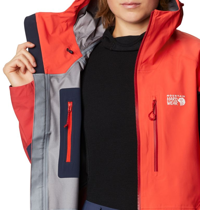 Gore-Tex Pro W Jkt | 636 | L Women's Exposure/2™ Gore-Tex Pro Light Jacket, Fiery Red, a6