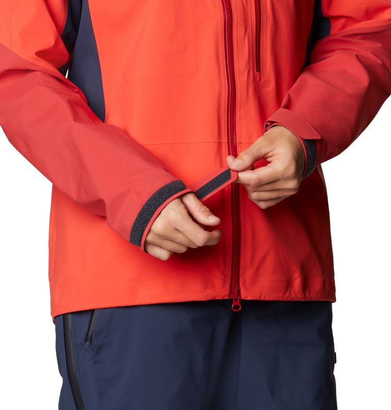 Gore-Tex Pro W Jkt | 636 | L Women's Exposure/2™ Gore-Tex Pro Light Jacket, Fiery Red, a7