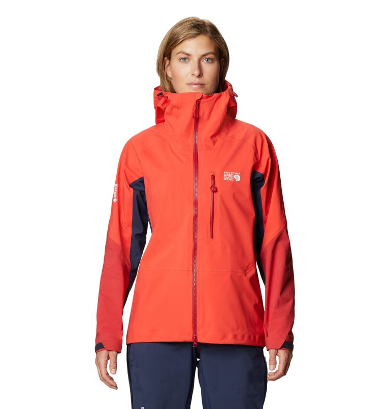 Gore-Tex Pro W Jkt | 636 | L Women's Exposure/2™ Gore-Tex Pro Light Jacket, Fiery Red, front