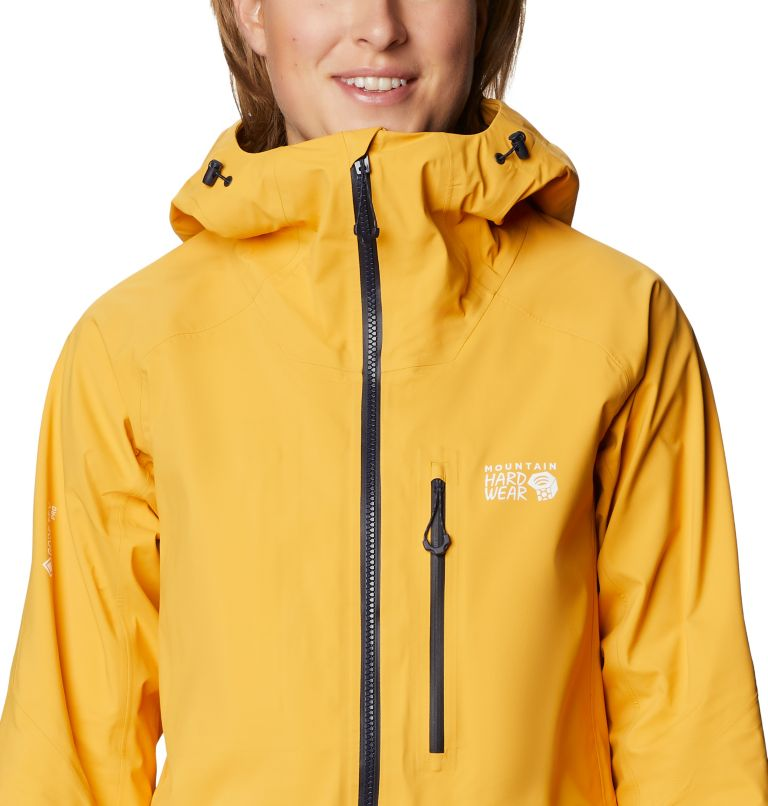 Gore-Tex Pro W Jkt | 750 | S Women's Exposure/2™ Gore-Tex® Pro LT Jacket, Gold Hour, a2