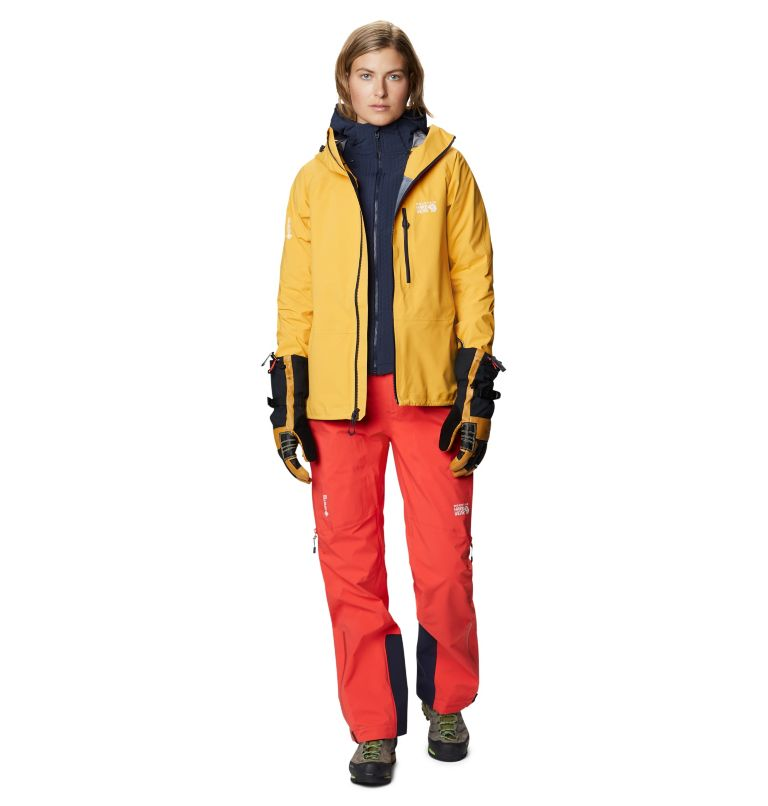 Gore-Tex Pro W Jkt | 750 | S Women's Exposure/2™ Gore-Tex® Pro LT Jacket, Gold Hour, a9