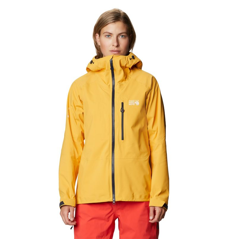 Gore-Tex Pro W Jkt | 750 | S Women's Exposure/2™ Gore-Tex® Pro LT Jacket, Gold Hour, front