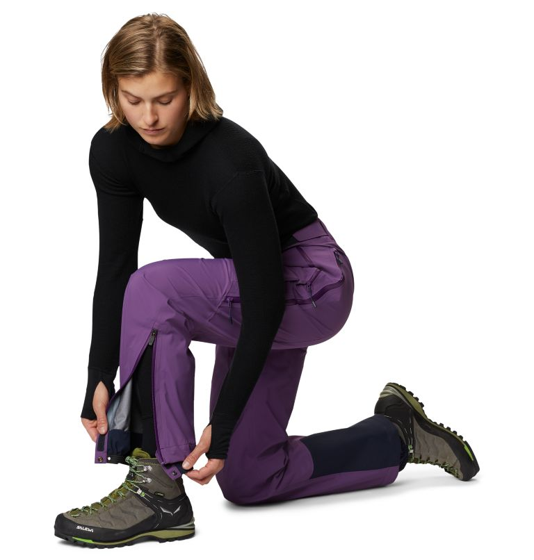 Gore-Tex Pro W Pant | 502 | L Women's Exposure/2™ Pro Light Pant, Cosmos Purple, a3
