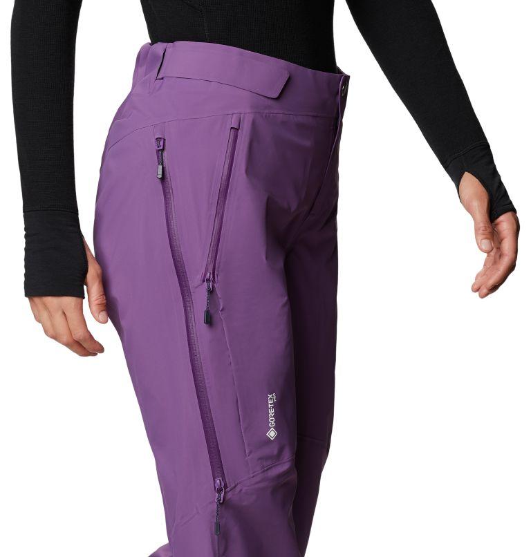 Gore-Tex Pro W Pant | 502 | L Women's Exposure/2™ Pro Light Pant, Cosmos Purple, a4