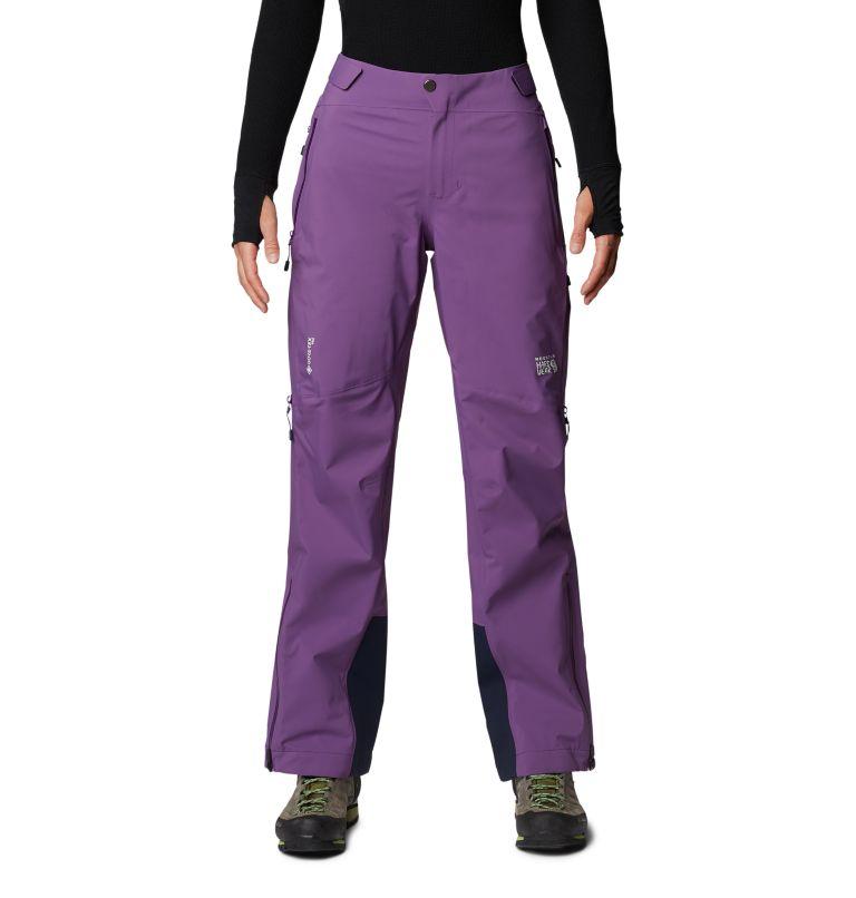 Gore-Tex Pro W Pant | 502 | L Women's Exposure/2™ Pro Light Pant, Cosmos Purple, front