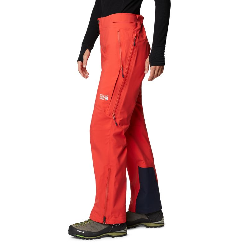 Gore-Tex Pro W Pant | 636 | S Women's Exposure/2™ Pro LT Pant, Fiery Red, a1