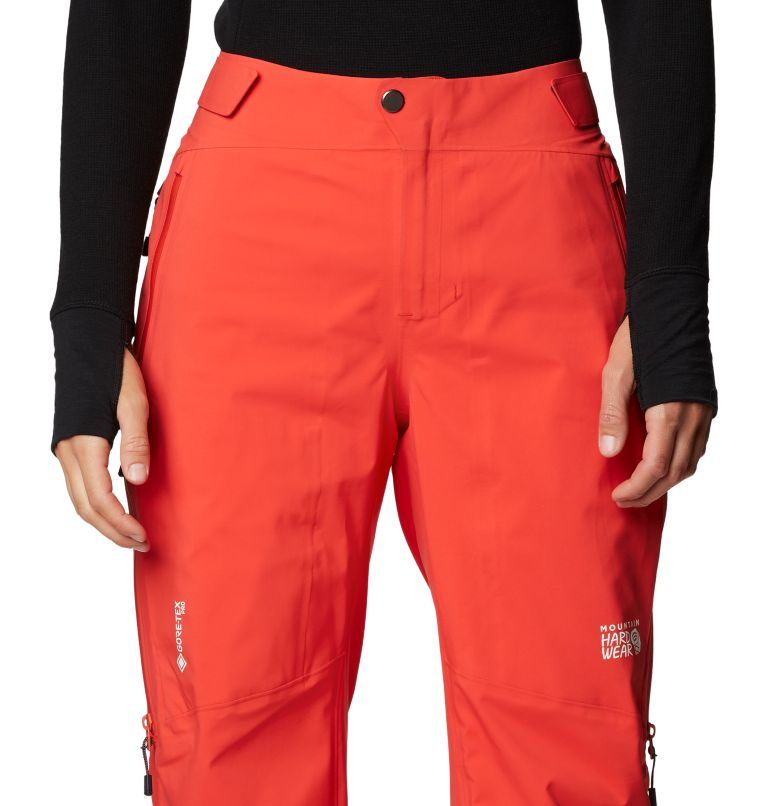 Gore-Tex Pro W Pant | 636 | S Women's Exposure/2™ Pro LT Pant, Fiery Red, a2