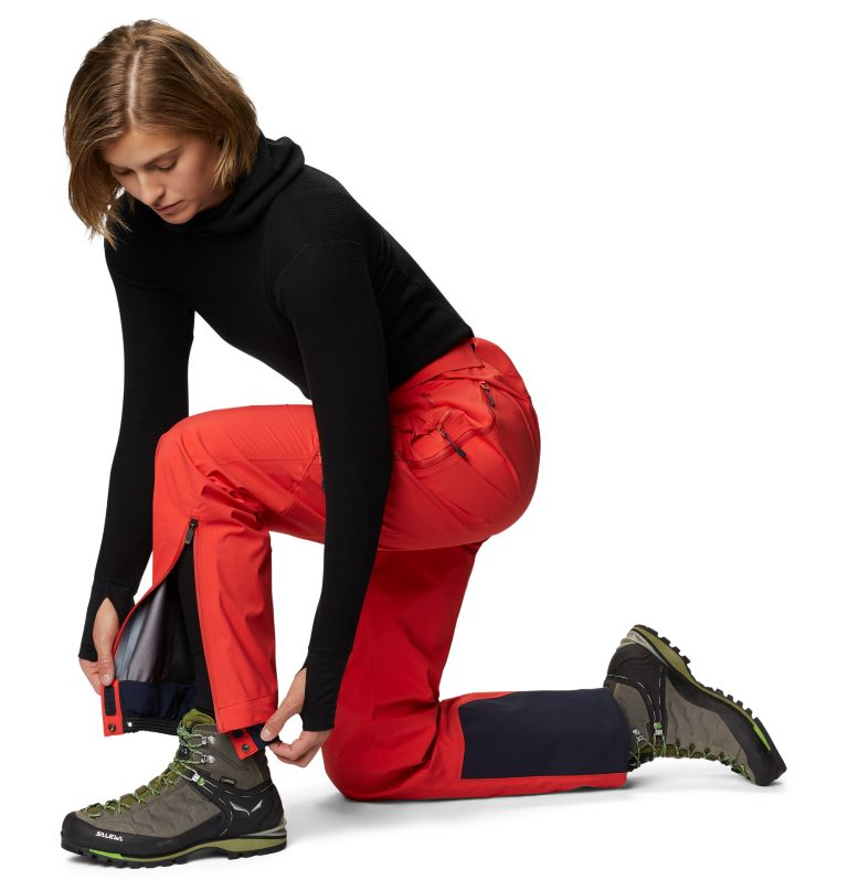 Gore-Tex Pro W Pant | 636 | S Women's Exposure/2™ Pro LT Pant, Fiery Red, a3