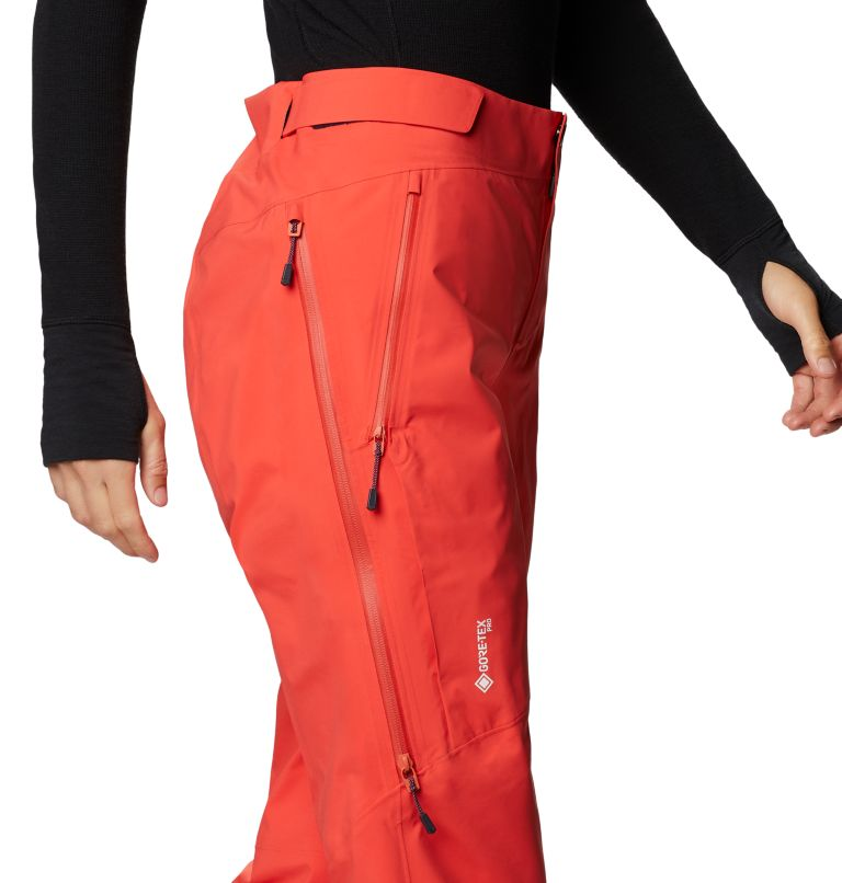 Gore-Tex Pro W Pant | 636 | S Women's Exposure/2™ Pro LT Pant, Fiery Red, a4