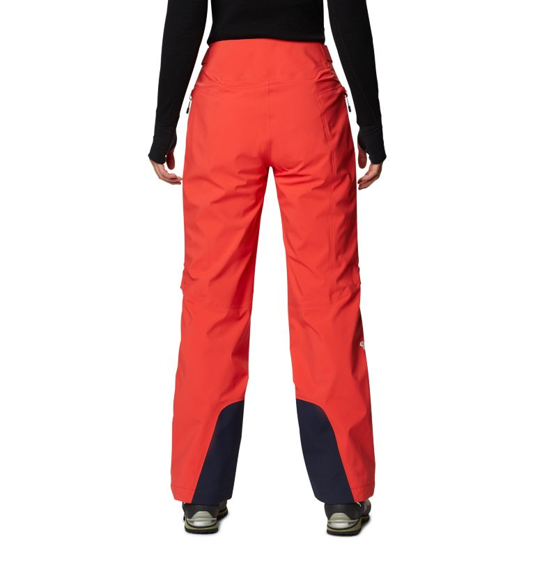Gore-Tex Pro W Pant | 636 | S Women's Exposure/2™ Pro LT Pant, Fiery Red, back