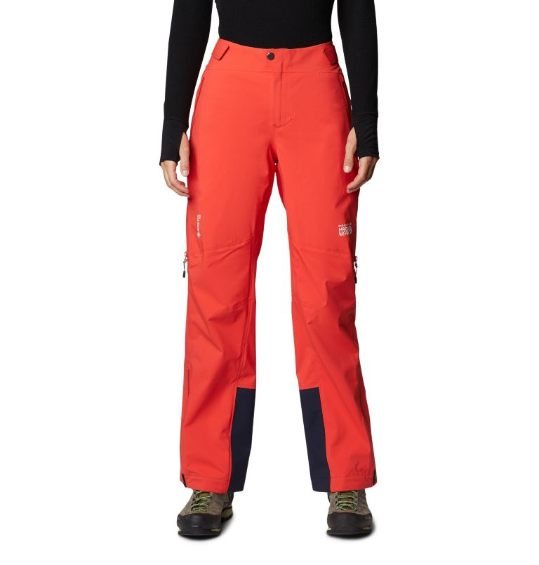 Gore-Tex Pro W Pant | 636 | S Women's Exposure/2™ Pro LT Pant, Fiery Red, front
