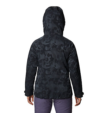 Women's Powder Quest™ Light Insulated Jacket Powder Quest™ Light Insulated Jacket | 165 | XL, Dark Storm Jacquard, back