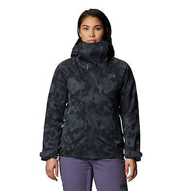 Women's Powder Quest™ Light Insulated Jacket Powder Quest™ Light Insulated Jacket | 165 | XL, Dark Storm Jacquard, front
