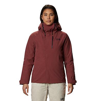 Women's Powder Quest™ Light Insulated Jacket Powder Quest™ Light Insulated Jacket | 165 | L, Washed Rock, front