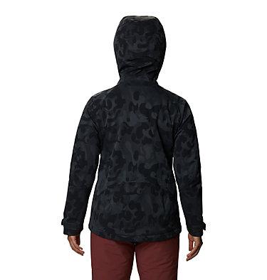 Women's Powder Quest™ Insulated Jacket Powder Quest™ Insulated Jacket | 549 | L, Dark Storm Jacquard, back