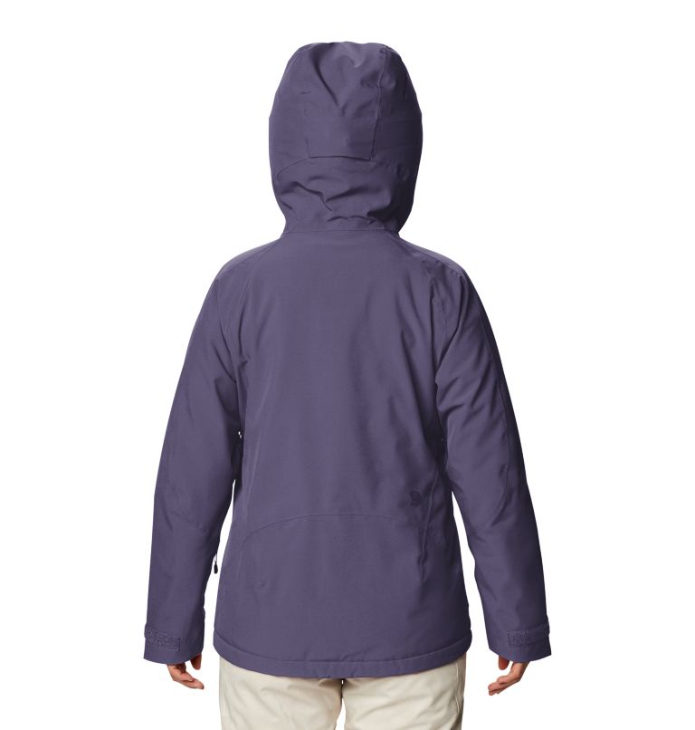 Women's Powder Quest™ Insulated Jacket Women's Powder Quest™ Insulated Jacket, back