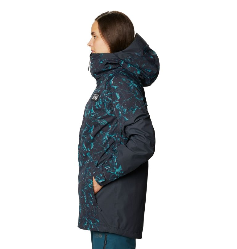 Firefall™ Insulated Jacket | 006 | M Manteau isolé Firefall™ Femme, Dark Storm Glitch Print, a1