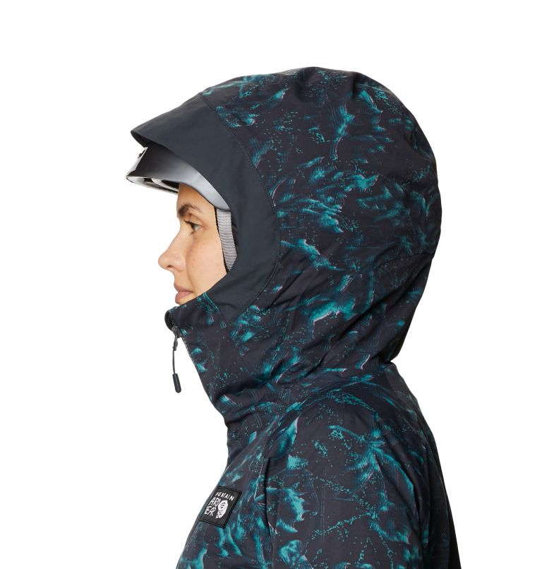 Firefall™ Insulated Jacket | 006 | M Manteau isolé Firefall™ Femme, Dark Storm Glitch Print, a3