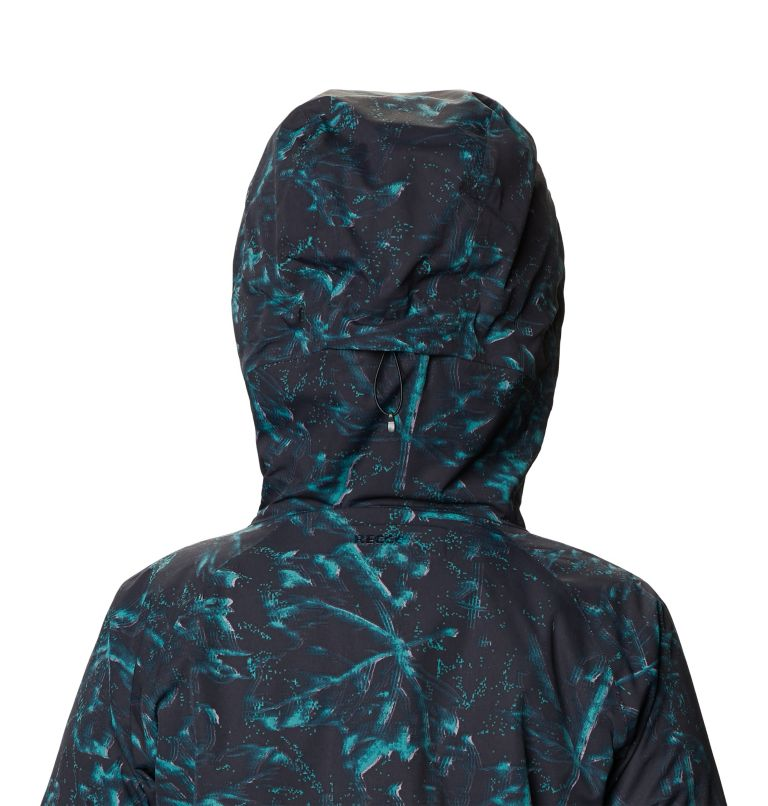 Firefall™ Insulated Jacket | 006 | M Manteau isolé Firefall™ Femme, Dark Storm Glitch Print, a4