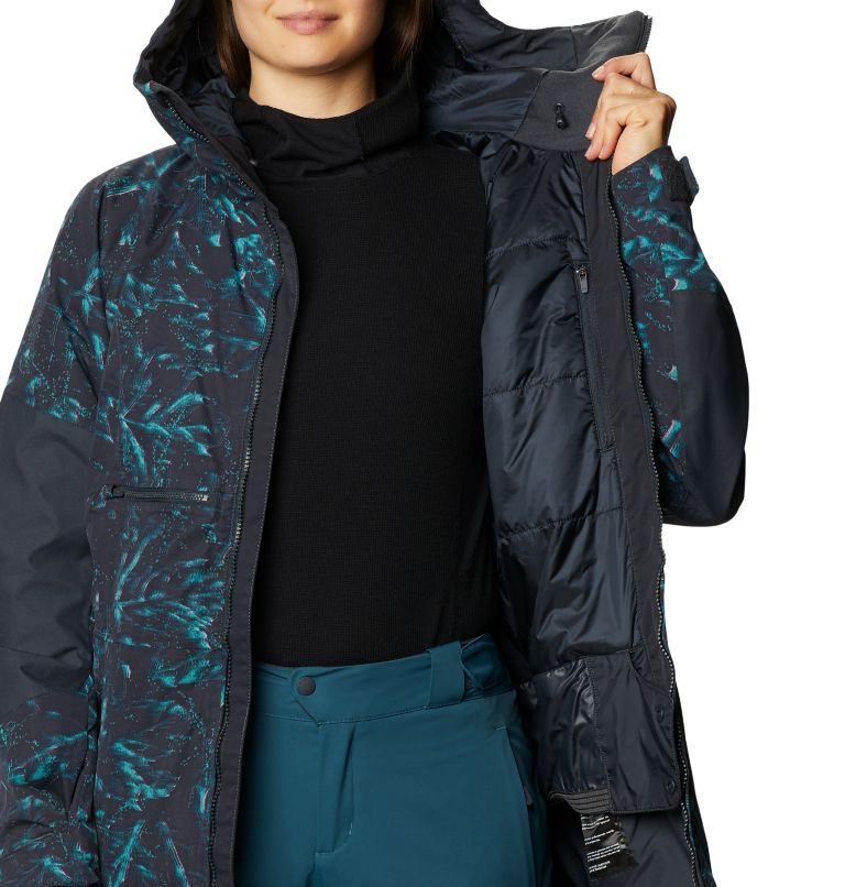 Firefall™ Insulated Jacket | 006 | M Manteau isolé Firefall™ Femme, Dark Storm Glitch Print, a5