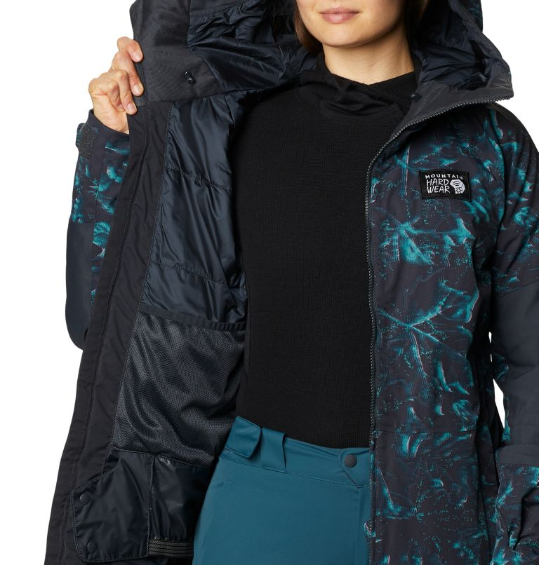 Firefall™ Insulated Jacket | 006 | M Manteau isolé Firefall™ Femme, Dark Storm Glitch Print, a6
