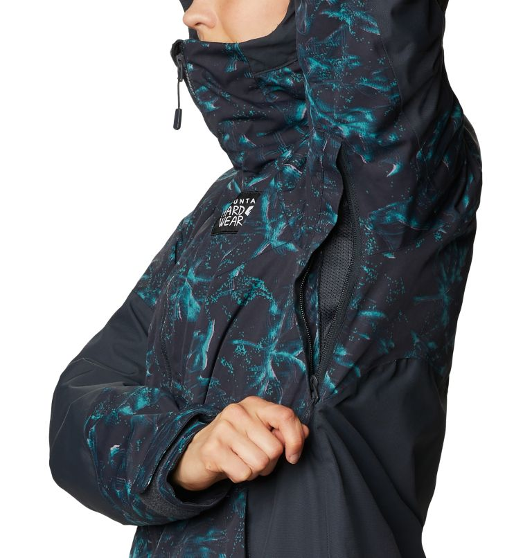 Firefall™ Insulated Jacket | 006 | M Manteau isolé Firefall™ Femme, Dark Storm Glitch Print, a7