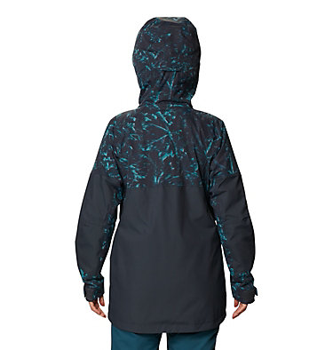 Women's Firefall™ Insulated Jacket Firefall™ Insulated Jacket | 006 | L, Dark Storm Glitch Print, back