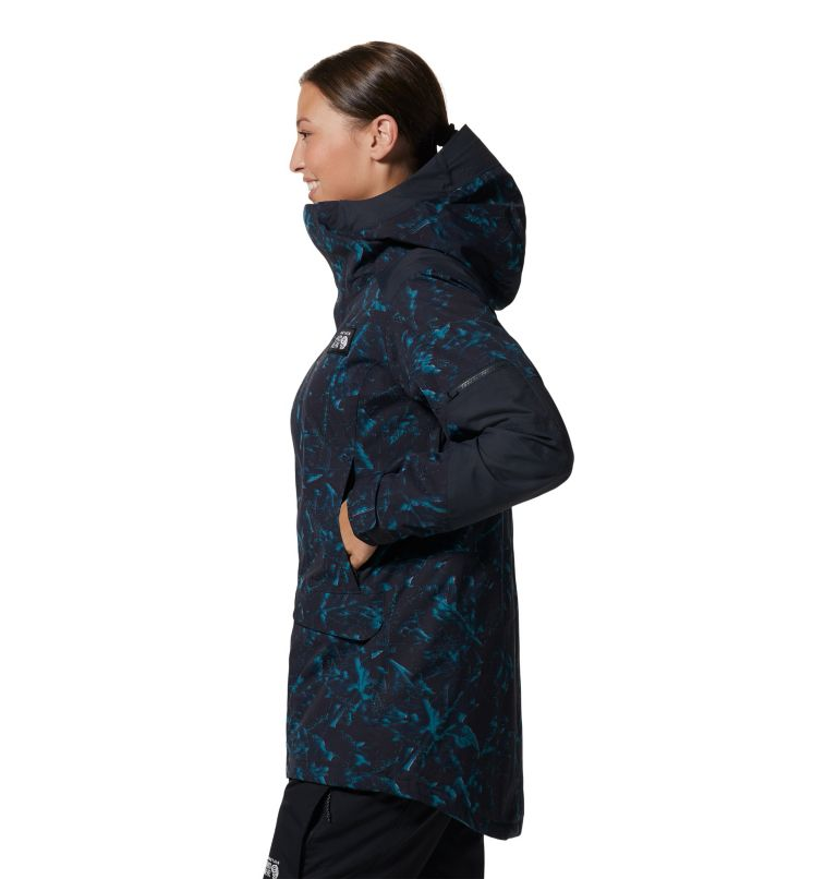 Firefall/2™ Insulated Parka | 006 | S Women's Firefall/2™ Insulated Parka, Dark Storm Glitch Print, a1