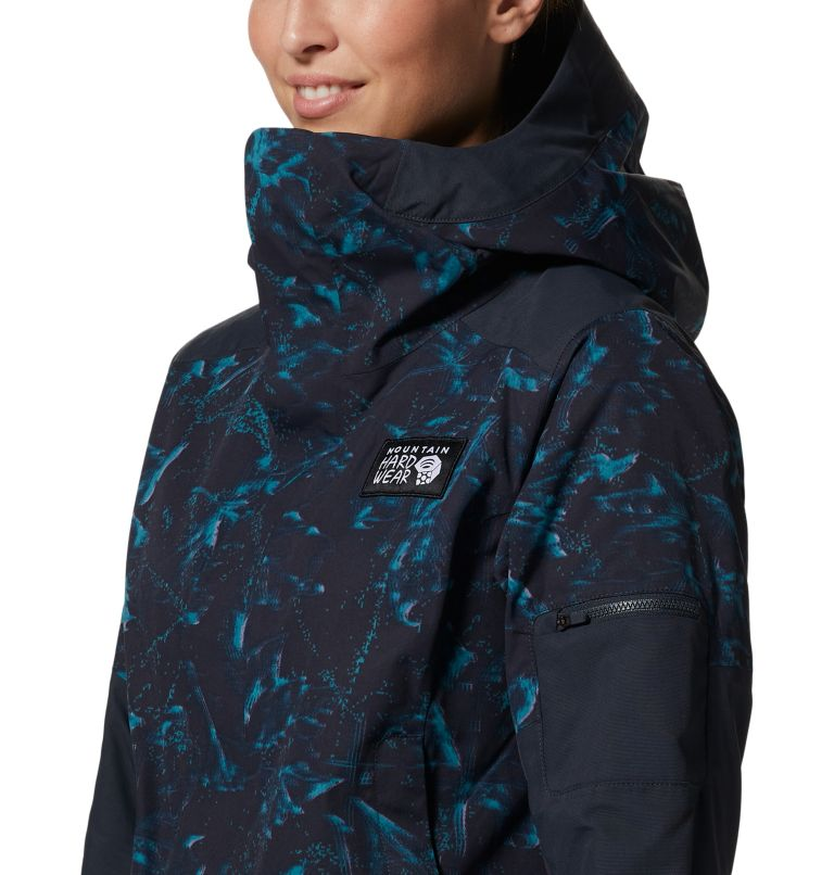 Firefall/2™ Insulated Parka | 006 | XS Women's Firefall/2™ Insulated Parka, Dark Storm Glitch Print, a5