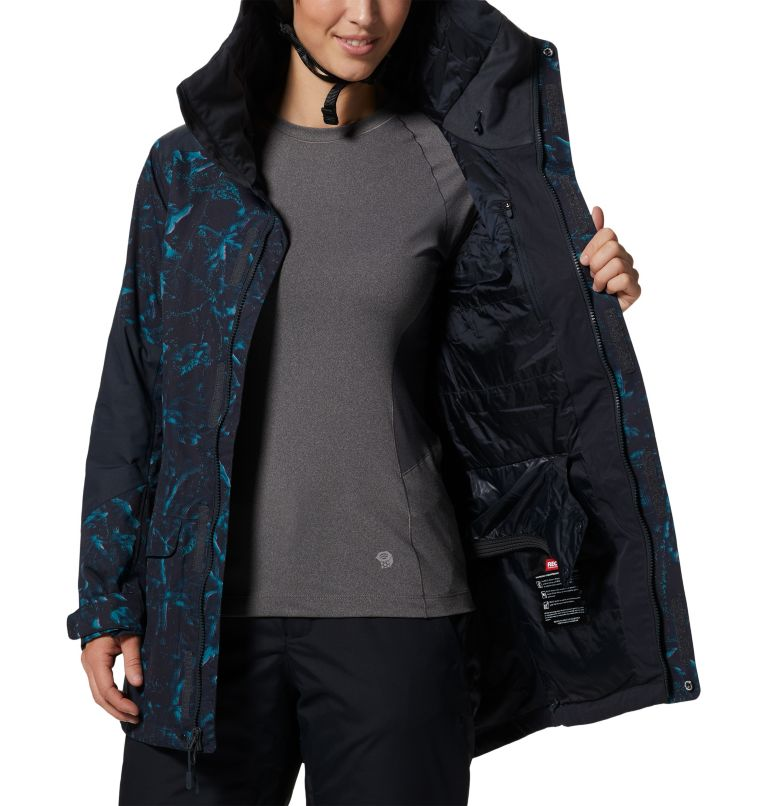 Firefall/2™ Insulated Parka | 006 | S Women's Firefall/2™ Insulated Parka, Dark Storm Glitch Print, a7