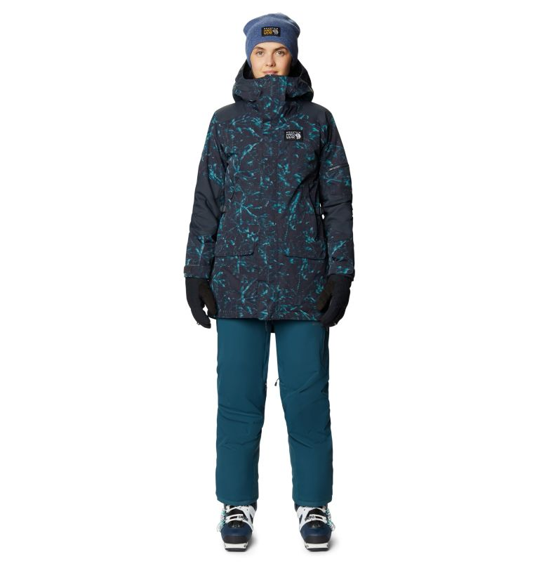 Firefall/2™ Insulated Parka | 006 | S Women's Firefall/2™ Insulated Parka, Dark Storm Glitch Print, a9