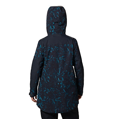 Women's Firefall/2™ Insulated Parka Firefall/2™ Insulated Parka | 324 | L, Dark Storm Glitch Print, back