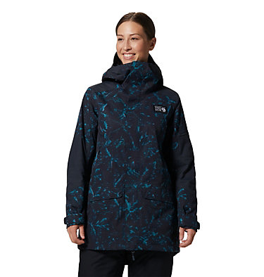 Women's Firefall/2™ Insulated Parka Firefall/2™ Insulated Parka | 324 | L, Dark Storm Glitch Print, front