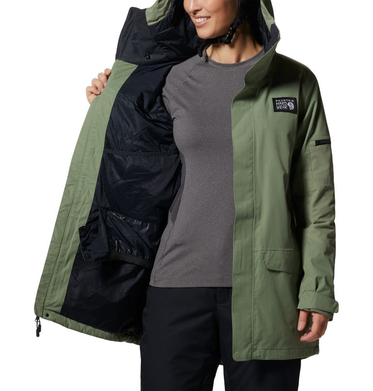 Firefall/2™ Insulated Parka | 354 | L Women's Firefall/2™ Insulated Parka, Field, a7