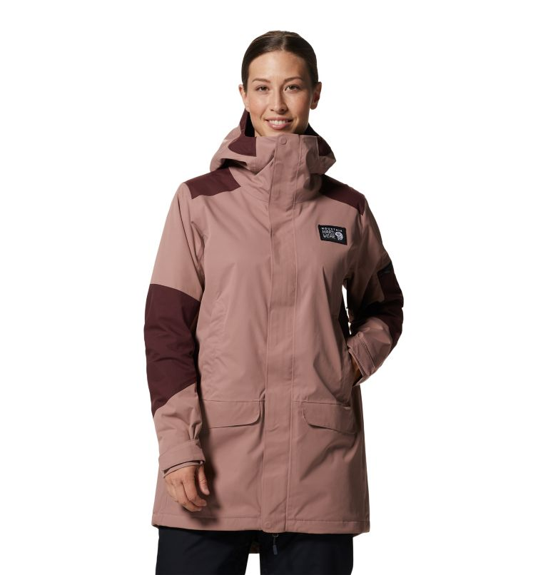 Firefall/2™ Insulated Parka   642   L Women's Firefall/2™ Insulated Parka, Smoky Quartz, front