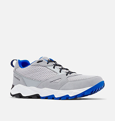 Men's Ivo Trail™ Breeze Shoe IVO TRAIL™ BREEZE | 088 | 10, Grey Ice, Blue Macaw, 3/4 front