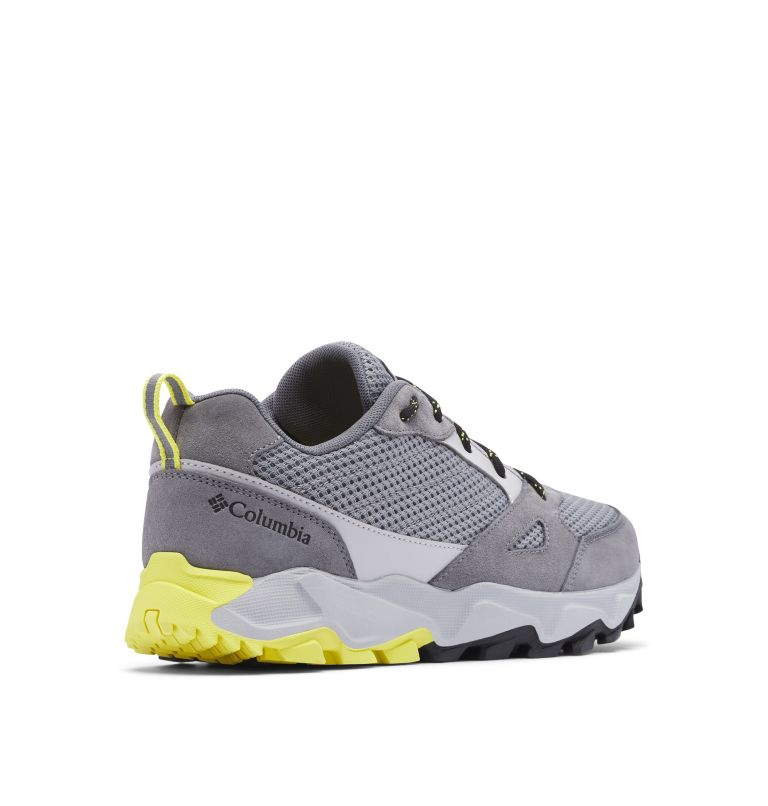 IVO TRAIL™ BREEZE | 088 | 9 Men's Ivo Trail™ Breeze Shoe, Steam, Acid Yellow, 3/4 back