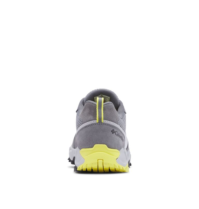 IVO TRAIL™ BREEZE | 088 | 9 Men's Ivo Trail™ Breeze Shoe, Steam, Acid Yellow, back