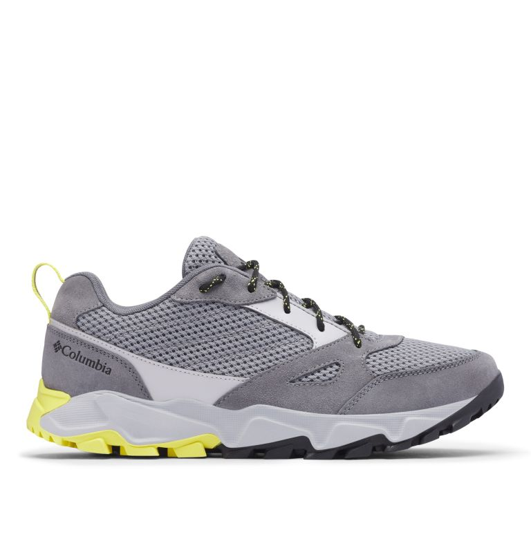 IVO TRAIL™ BREEZE | 088 | 7.5 Men's Ivo Trail™ Breeze Shoe, Steam, Acid Yellow, front