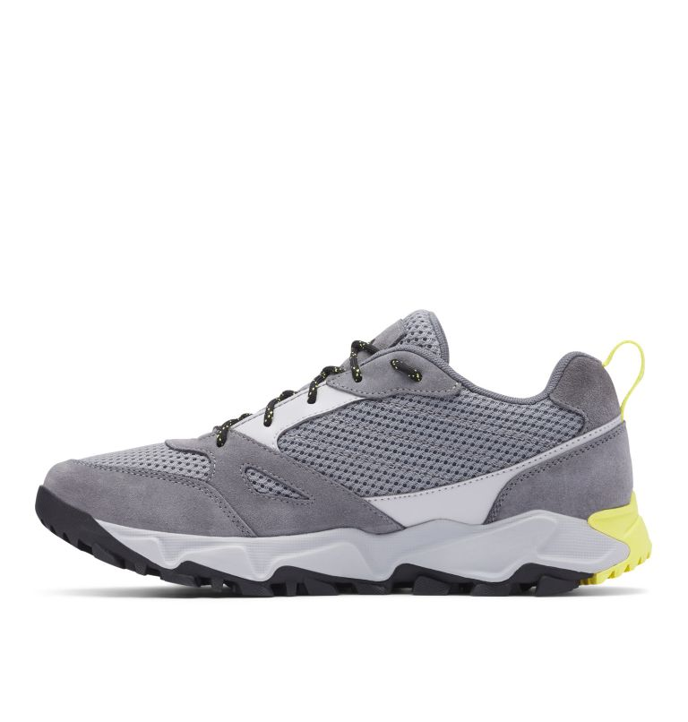 IVO TRAIL™ BREEZE | 088 | 9 Men's Ivo Trail™ Breeze Shoe, Steam, Acid Yellow, medial