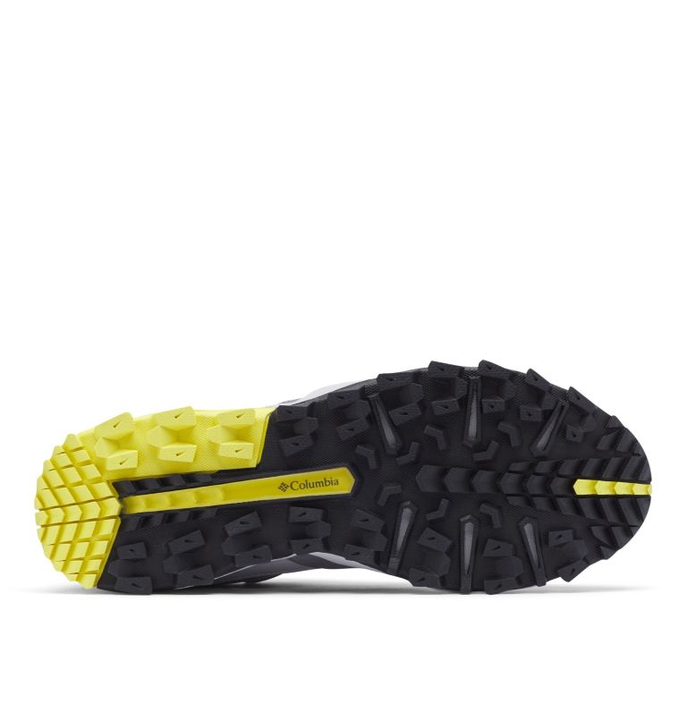 IVO TRAIL™ BREEZE | 088 | 7.5 Men's Ivo Trail™ Breeze Shoe, Steam, Acid Yellow
