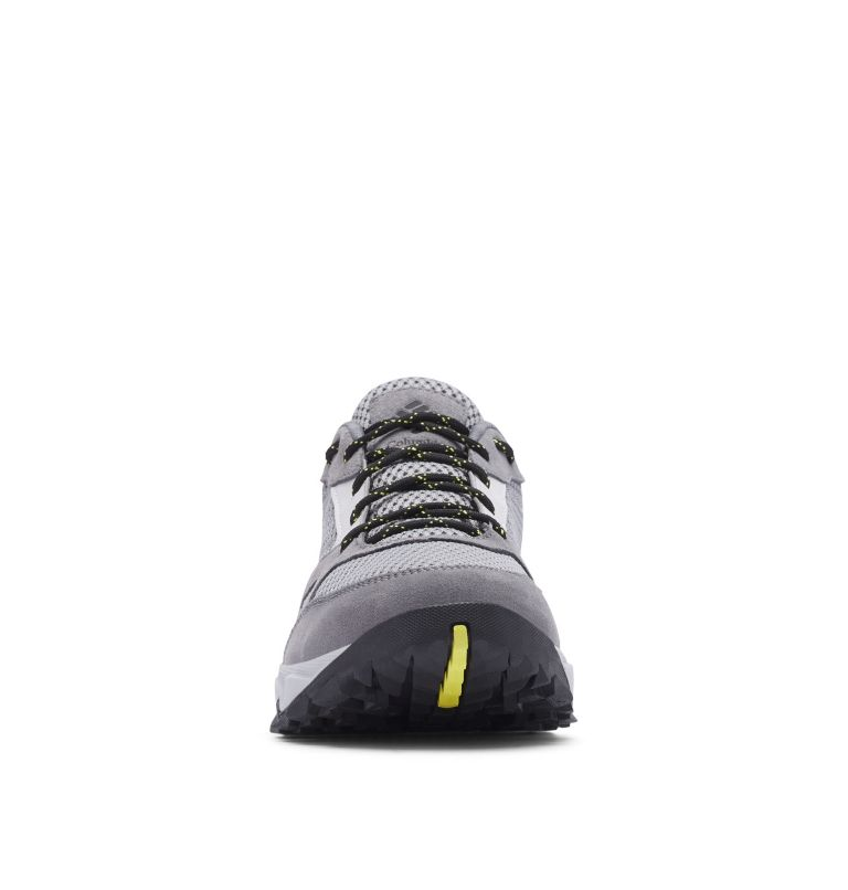 IVO TRAIL™ BREEZE | 088 | 7.5 Men's Ivo Trail™ Breeze Shoe, Steam, Acid Yellow, toe