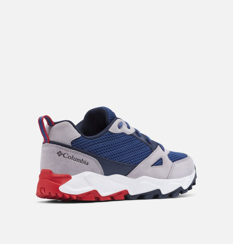 IVO TRAIL™ BREEZE   469   13 Men's Ivo Trail™ Breeze Shoe, Carbon, Rust Red, 3/4 back