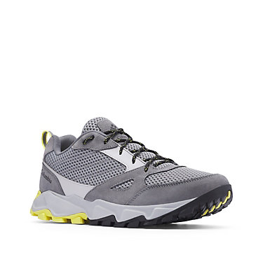 Men's Ivo Trail™ Breeze Shoe – Wide IVO TRAIL™ BREEZE WIDE | 010 | 10, Steam, Acid Yellow, 3/4 front