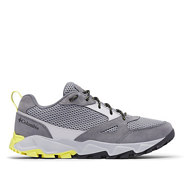 Men's Ivo Trail™ Breeze Shoe – Wide IVO TRAIL™ BREEZE WIDE | 010 | 10, Steam, Acid Yellow, front