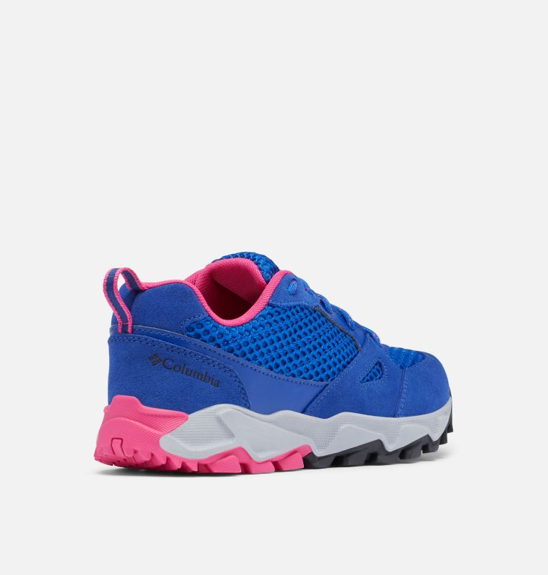 IVO TRAIL™ BREEZE | 410 | 7.5 Women's Ivo Trail™ Breeze Shoe, Cobalt Blue, Haute Pink, 3/4 back